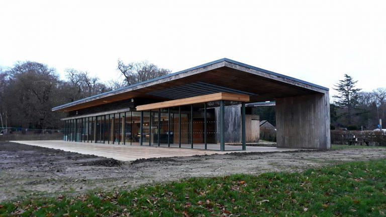 Virginia Water Pavilion - Windsor Great Park